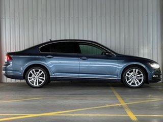 2015 Volkswagen Passat 3C (B8) MY16 140TDI DSG Highline Blue 6 Speed Sports Automatic Dual Clutch.