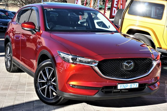Used Mazda CX-5 KF4W2A GT SKYACTIV-Drive i-ACTIV AWD Phillip, 2019 Mazda CX-5 KF4W2A GT SKYACTIV-Drive i-ACTIV AWD Red 6 Speed Sports Automatic Wagon