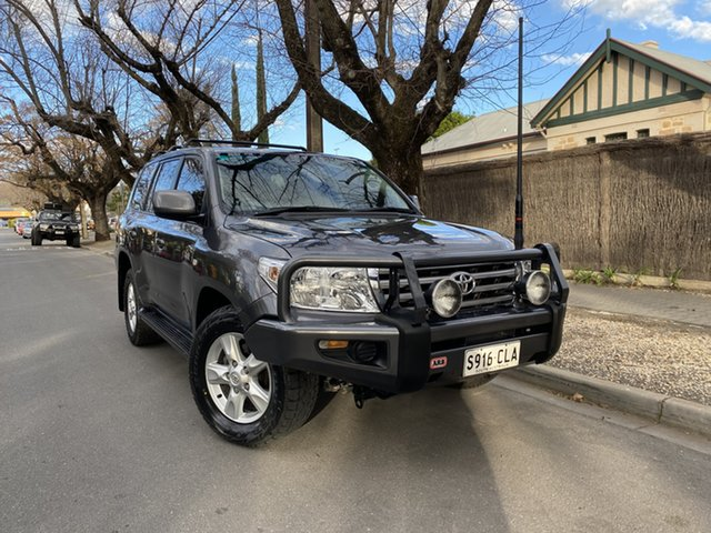 Pre-Owned Toyota Landcruiser VDJ200R MY10 VX Hawthorn, 2010 Toyota Landcruiser VDJ200R MY10 VX Grey 6 Speed Sports Automatic Wagon
