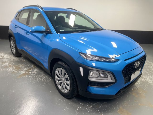 Used Hyundai Kona OS.2 MY19 Go 2WD Cardiff, 2019 Hyundai Kona OS.2 MY19 Go 2WD Blue 6 Speed Sports Automatic Wagon