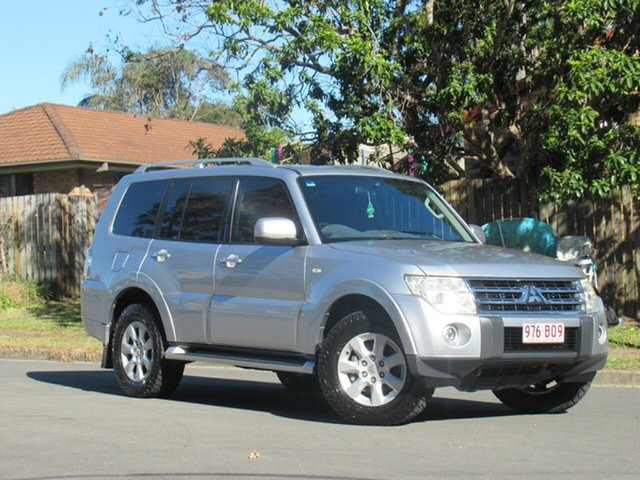 Used Mitsubishi Pajero NT MY11 GLS, 2011 Mitsubishi Pajero NT MY11 GLS Silver 5 Speed Sports Automatic Wagon