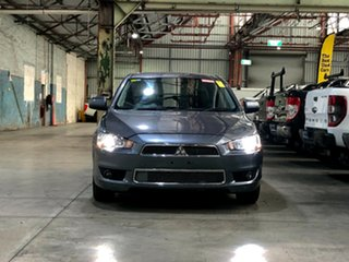 2009 Mitsubishi Lancer CJ MY09 Aspire Grey 6 Speed Constant Variable Sedan.