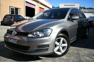 2014 Volkswagen Golf AU MY14 90 TSI Grey 6 Speed Manual Hatchback.