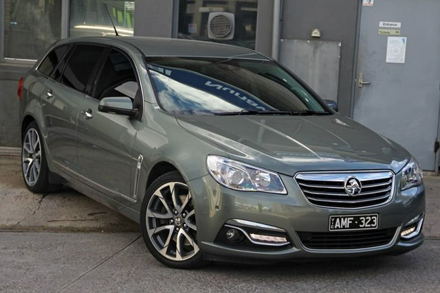 Used Holden Calais VF II MY16 V Sportwagon Nunawading, 2015 Holden Calais VF II MY16 V Sportwagon Grey 6 Speed Sports Automatic Wagon