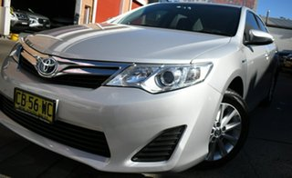 2014 Toyota Camry AVV50R Hybrid H Silver Continuous Variable Sedan.