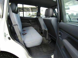 1998 Toyota Landcruiser Prado VZJ95R GXL White 4 Speed Automatic Wagon