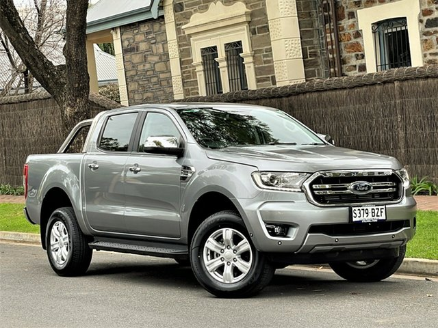 Used Ford Ranger PX MkIII 2019.00MY XLT Hyde Park, 2018 Ford Ranger PX MkIII 2019.00MY XLT Silver 10 Speed Sports Automatic Utility
