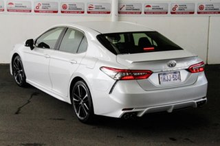 2018 Toyota Camry GSV70R MY19 SX V6 Frosted White 8 Speed Automatic Sedan