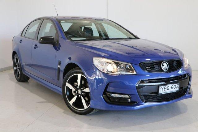 Used Holden Commodore VF II MY16 SV6 Black Wagga Wagga, 2016 Holden Commodore VF II MY16 SV6 Black Blue 6 Speed Sports Automatic Sedan