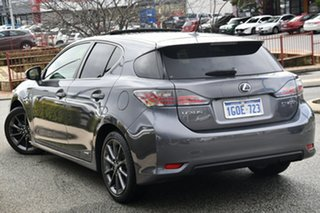 2013 Lexus CT ZWA10R MY13 CT200h F Sport Grey 1 Speed Constant Variable Hatchback Hybrid.