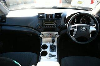 2010 Toyota Kluger GSU45R KX-S (4x4) Black 5 Speed Automatic Wagon