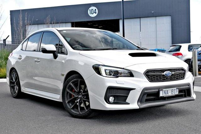 Used Subaru WRX V1 MY19 Premium Lineartronic AWD Essendon Fields, 2019 Subaru WRX V1 MY19 Premium Lineartronic AWD White 8 Speed Constant Variable Sedan