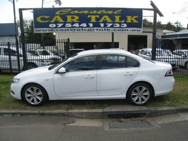 Used Ford Falcon FG G6 Limited Edition Nambour, 2010 Ford Falcon FG G6 Limited Edition White 5 Speed Automatic Sedan