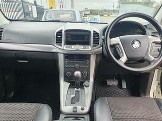 2012 Holden Captiva CG Series II 7 AWD CX Pearl White 6 Speed Sports Automatic Wagon