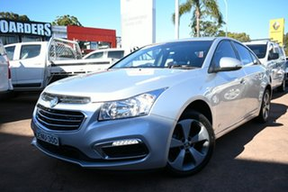 2016 Holden Cruze JH MY16 Z-Series Silver 6 Speed Automatic Sedan.