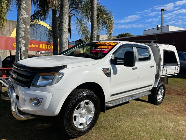Used Ford Ranger PX XLS Double Cab Toowoomba, 2014 Ford Ranger PX XLS Double Cab 6 Speed Sports Automatic Utility