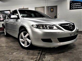 2002 Mazda 6 GG1031 Classic Metallic Silver 5 Speed Manual Sedan.