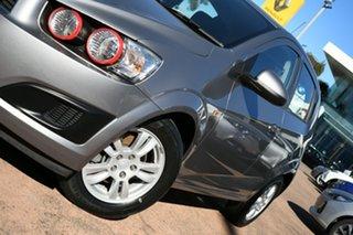 2012 Holden Barina TM Grey 5 Speed Manual Hatchback.