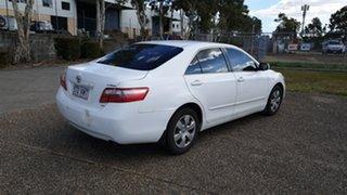 2007 Toyota Camry ALTISE ACV40R White Automatic Sedan.