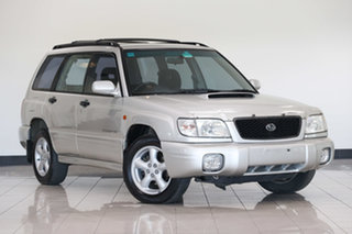 2000 Subaru Forester 79V MY00 GT AWD Silver 4 Speed Automatic Wagon.