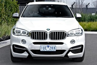 2017 BMW X6 F16 M50d Coupe Steptronic White 8 Speed Sports Automatic Wagon