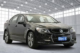 2014 Holden Commodore VF MY15 SV6 Black 6 Speed Sports Automatic Sedan.