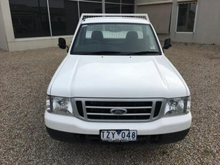 2006 Ford Courier PH (Upgrade) GL 4x2 White 5 Speed Manual Cab Chassis.