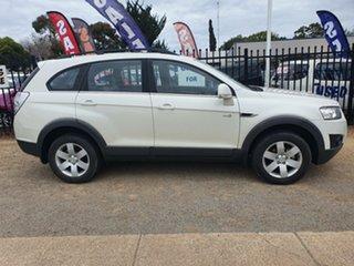 2012 Holden Captiva CG Series II 7 AWD CX Pearl White 6 Speed Sports Automatic Wagon.