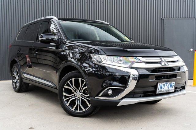 Used Mitsubishi Outlander ZK MY17 LS 4WD Mornington, 2017 Mitsubishi Outlander ZK MY17 LS 4WD Black 6 Speed Constant Variable Wagon