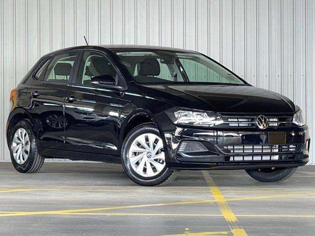 New Volkswagen Polo AW MY21 70TSI DSG Trendline Moorabbin, 2021 Volkswagen Polo AW MY21 70TSI DSG Trendline Black 7 Speed Sports Automatic Dual Clutch