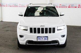 2015 Jeep Grand Cherokee WK MY15 Overland (4x4) 8 Speed Automatic Wagon.
