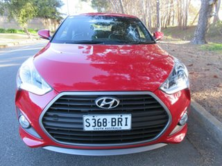 2016 Hyundai Veloster FS4 Series II SR Coupe D-CT Turbo Veloster Red Pearl/s 7 Speed