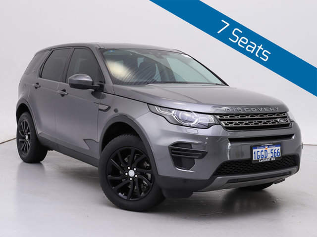 Used Land Rover Discovery Sport LC MY17 TD4 150 SE 7 Seat, 2017 Land Rover Discovery Sport LC MY17 TD4 150 SE 7 Seat Grey 9 Speed Automatic Wagon