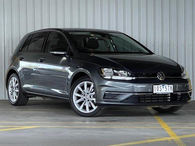 Used Volkswagen Golf 7.5 MY20 110TSI DSG Comfortline Moorabbin, 2019 Volkswagen Golf 7.5 MY20 110TSI DSG Comfortline Grey 7 Speed Sports Automatic Dual Clutch