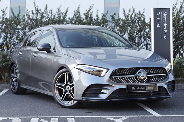 Certified Pre-Owned Mercedes-Benz A-Class W177 800+050MY A180 DCT Mulgrave, 2020 Mercedes-Benz A-Class W177 800+050MY A180 DCT Mountain Grey 7 Speed