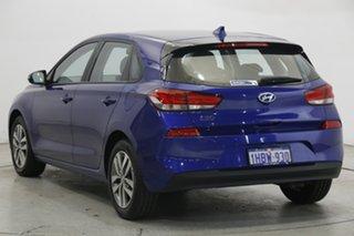 2020 Hyundai i30 PD2 MY20 Active Intense Blue 6 Speed Sports Automatic Hatchback.