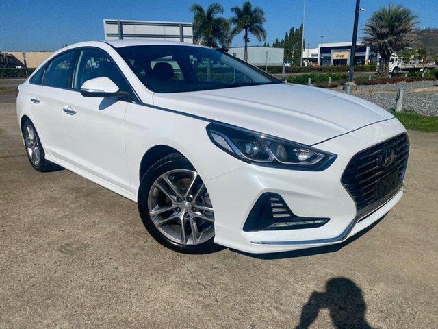 Used Hyundai Sonata LF4 MY19 Active Townsville, 2019 Hyundai Sonata LF4 MY19 Active White/150419 6 Speed Sports Automatic Sedan