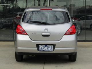 2006 Nissan Tiida C11 ST Silver 4 Speed Automatic Hatchback
