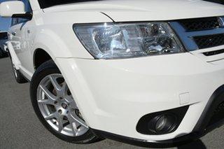 2013 Fiat Freemont JF Lounge Bianco White 6 Speed Automatic Wagon.