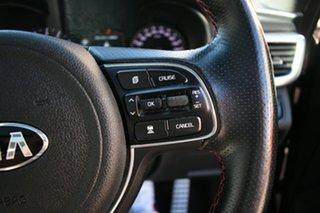 2017 Kia Optima JF MY18 GT NAV (Black Leather) Black 6 Speed Automatic Sedan