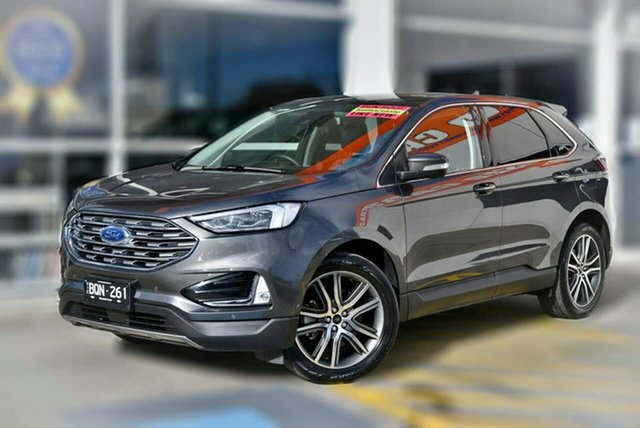 Used Ford Endura CA 2019MY Titanium Berwick, 2019 Ford Endura CA 2019MY Titanium Grey 8 Speed Sports Automatic Wagon