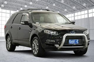 2014 Ford Territory SZ MkII Titanium Seq Sport Shift AWD Blue 6 Speed Sports Automatic Wagon.
