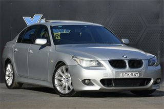 2005 BMW 5 Series E60 530i Steptronic M Sport Silver 6 Speed Sports Automatic Sedan.
