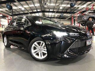 2020 Toyota Corolla ZWE211R SX E-CVT Hybrid Eclipse Black 10 Speed Constant Variable Hatchback.