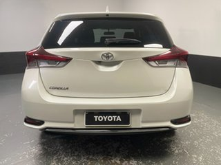 2016 Toyota Corolla ZRE182R Ascent Sport S-CVT Blizzard 7 Speed Constant Variable Hatchback