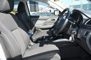 2015 Mitsubishi Triton MQ MY16 GLS Double Cab White Solid 6 Speed Manual Utility