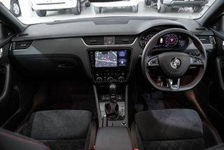 2020 Skoda Octavia NE MY20.5 RS DSG 245 White 7 Speed Sports Automatic Dual Clutch Wagon.