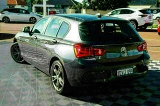 2015 BMW 1 Series F20 LCI 118i Steptronic Sport Line Grey 8 Speed Sports Automatic Hatchback.