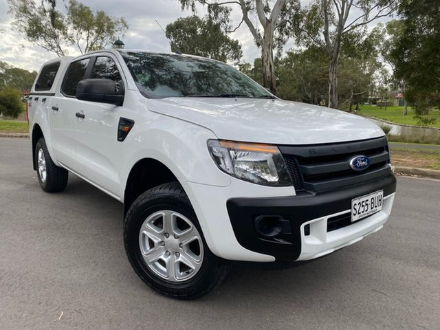 Used Ford Ranger PX XL Hillcrest, 2013 Ford Ranger PX XL White 6 Speed Sports Automatic Utility