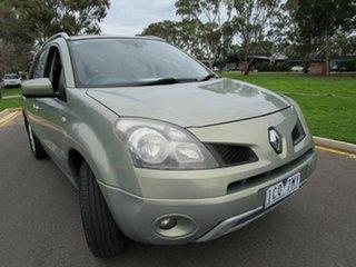 2009 Renault Koleos H45 Dynamique (4x2) Green Continuous Variable Wagon.
